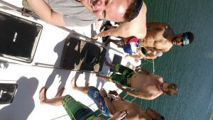 Bachelor party with Lake Travis Yacht Rentals. Chance Casey from the Oakland Raiders was onboard