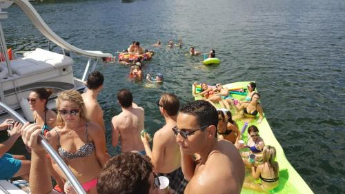 Party is going down in Devil's Cove - the destination for your bachelor/bachelorette party!