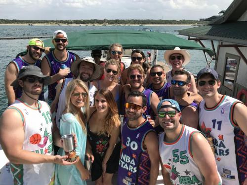 Bachelor Party in Devil's Cove